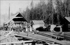 priarie sawmill vintage lumberjacks u0026 sawmillers pinterest