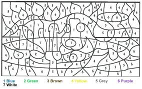 Full Image For Coloring Pages By Number Adults At Book Online
