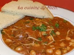 cuisine marocaine harira harira bidaouia de choumicha la cuisine de mich