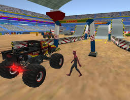 Extreme Monster Truck Stunt Parking Driving School For Android ...