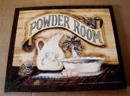 Primitive Outhouse Bathroom Decor by 9x11 Retro Antique Wood Powder Room Country Wall Art Bath Bathroom