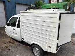100 Zap Truck Zebra Electric 3wheeler Box Used Other Makes For Sale