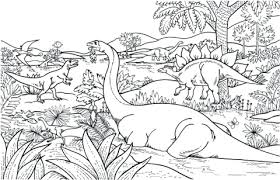 Full Image For Dinosaurs Coloring Pages Good Dinosaur Printable With