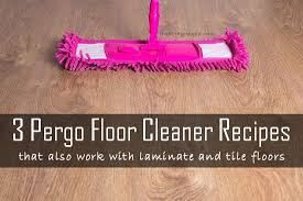 daily dose of thrifty three pergo natural floor cleaner recipes