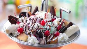 Everything But The Kitchen Sink Ice Cream With Design Picture