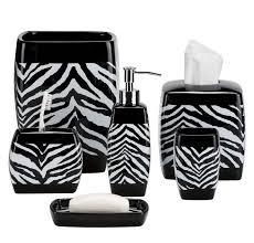 Zebra Print Bath Accessories Finding The Best Bathroom Sets