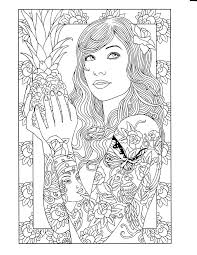 Tattoo Printable Coloring Page
