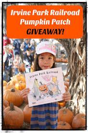 Best Pumpkin Patch In San Bernardino County by The Irvine Park Railroad U0027s Annual Pumpkin Patch Giveaway Socal
