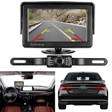 100 Backup Camera For Truck LeeKooLuu And Monitor Kit For CarVehicle