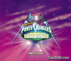 ranger cool rom power rangers time rom iso for sony playstation