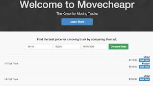 100 14 Foot U Haul Truck Movecheapr Compares Prices Between Moving S