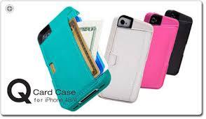 Amazon Silk iPhone 4 4S Wallet Case Q CARD CASE [Slim