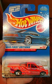 100 Pro Stock Truck Hot WheelsChevy 2000 First Editions 7 Of