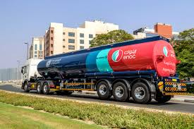 100 Fuel Trucks ENOC Introduces HighTech Distribution GULF
