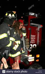 Oct. 30, 2008 - New York, New York, U.S. - TRAVELING ON A FIRETRUCK ...