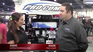 SEMA 2013 - Pro Comp Talks Shock Absorbers And Suspension Systems ... Front Leaf To Coil Cversion Ford Truck Enthusiasts Forums 2004 Chevrolet C6500 Spring For Sale Sioux Falls Sd Springs On 97 F250 4x4 Diesel Forum Thedieselstopcom 96 Gmc K1500 6 Pro Comp Lift 35 Mt2 15by10 Dick Cepek Air Lift Vs Firestone Which One Is Better 1877 Amazoncom Pro Comp 22415 5 Rear For F2f350 99 Trailer Hitches Talks Companion Slider And 5th Wheel Hitch Sdtruckspringscom Traing Traing Course Profs Sdtrucksprings Competitors Revenue Employees Owler Company Ford Super Duty Truck F450 Dually Set 2 Lr Oem Rear Suspension