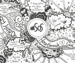 67 Images About Fan Art 5sos On We Heart It