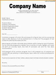 8 letter of transmittal example