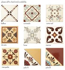 revival colonial decos mission tile west