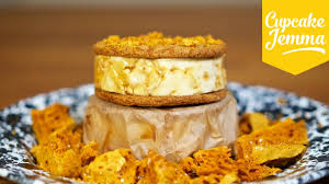 How To Make A Ginger Honeycomb Ice Cream Sandwich