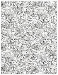 Coloring Adult Fishes 1 2 Free To Print