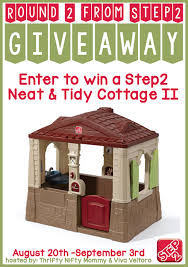 Step2 Happy Home Cottage U0026 by Win A Step2 Neat U0026 Tidy Cottage Ii