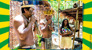 Native Amerindians Clothing Brazil