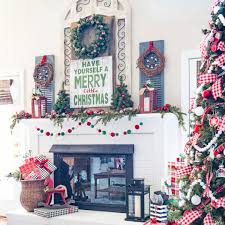 Rustic Christmas Bathroom Sets by Farmhouse Christmas Decor Ideas Involvery Community Blog