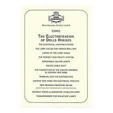 anleitung elektroinstallation englisch
