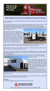100 Semi Truck Rental Companies And Trailer Easy And Affordable Solution For Moving
