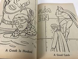 Vintage 1976 Batman Meets Blockbuster Coloring Book New Old Stock Photo 7