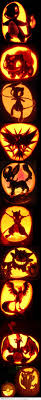 Little Mermaid And Flounder Pumpkin Stencil by 501 Best Disney Pumpkins Images On Pinterest Halloween Pumpkins