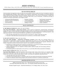 Parts Of Resume Automotive Sales Auto Resumes Internet Manager Clerk
