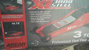 Northern Tool 3 Ton Floor Jack by Costco In Store Arcan Xl3000 Low Profile 3 Ton All Steel Jack