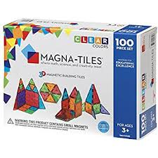 magna tiles clear colors 100 set industrial