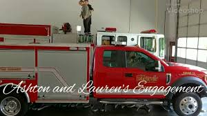 Right On The Hose! Fayetteville Firefighter's Surprise Proposal ...