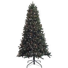 St Nicholas Square 7 Ft Verona Pine Pre Lit Artificial Christmas Tree