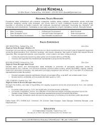 Sales Manager Resume Template Experience Retail Professional