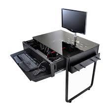 ordinateur de bureau pour gamer bureau gamer meuble de design unique