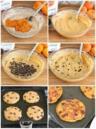 Easy Healthy Pumpkin Pancake Recipe by Pumpkin Chocolate Chip Pancakes The Bakermama