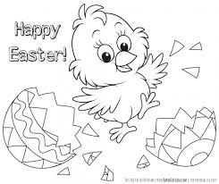 Coloring Ideas For Preschoolers Easter Free Pages Printable Kids