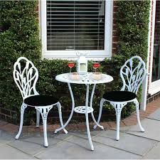 Panana Outdoors Garden Table With 2 Pcs Chairs Cast Aluminium Tulip Garden  Bistro Set White Brompton Metal Garden Rectangular Set Fniture Compare 56 Bistro Black Wrought Iron Cafe Table And Chairs Pana Outdoors With 2 Pcs Cast Alinium Tulip White Vintage Patio Ding Buy Tables Chairsmetal Gardenfniture Italian Terrace Fniture Archives John Lewis Partners Ala Mesh 6seater And Bronze Home Hartman Outdoor Products Uk Our Pick Of The Best Ideal Royal River Oak 7piece Padded Sling Darwin Metal 6 Seat Garden Ding Set