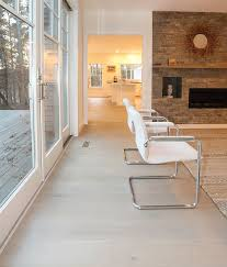 Structured Engineered Wide Wood Plank Flooring Fogg