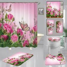 details zu dusche badezimmer set bad kit zubehör teile ersatz wohnkultur rosa
