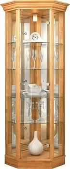 marvelous curio cabinet lighting corner glass display cabinet