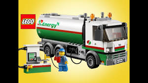 100 Lego City Tanker Truck 60016 Stop Motion Speed Build Unboxing Demo