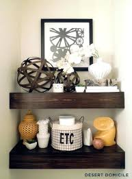Floating Shelves Decor Pick Out Chunky Wood Shelf Bathroom Ideas