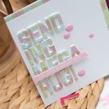 April Die Of The Month Project Inspiration Creative Cards