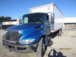 USED 2007 INTERNATIONAL 4300 BOX VAN TRUCK FOR SALE IN MD #1309