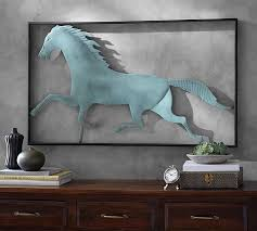 Pottery Barn Metal Wall Decor by Entrancing 25 Wall Art Horses Design Decoration Of 53 Wall Art